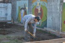 Comienzan obras en las escuelas J. M. Paz y B. Rivadavia.
