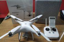Los Bomberos de Las Varillas incorporaron un drone a su equipamiento