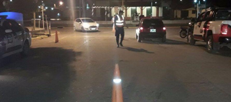 Continúan operativos de saturación y control en barrios de la ciudad.