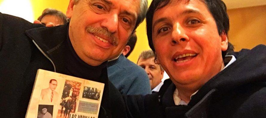 Las Varillas decide: Peloso y su foto con Alberto Fernández