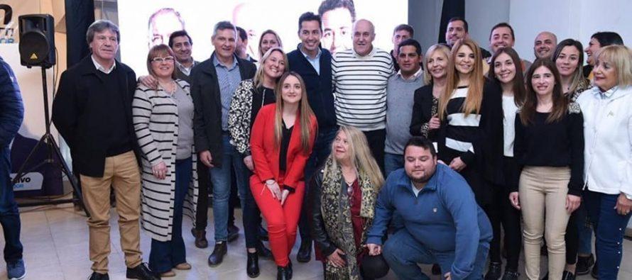 Chiocarello lanzó su candidatura a la reelección