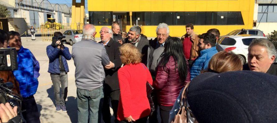 El primer candidato a diputado del Frente de Todos visitó la ciudad