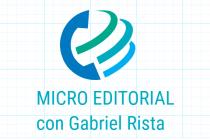 Micro editorial de Gabriel Rista, pobreza y marginalidad en la ciudad (audio)