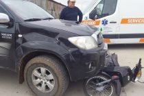 Dos accidentes de tránsito y el secuestro de una moto, en el parte policial
