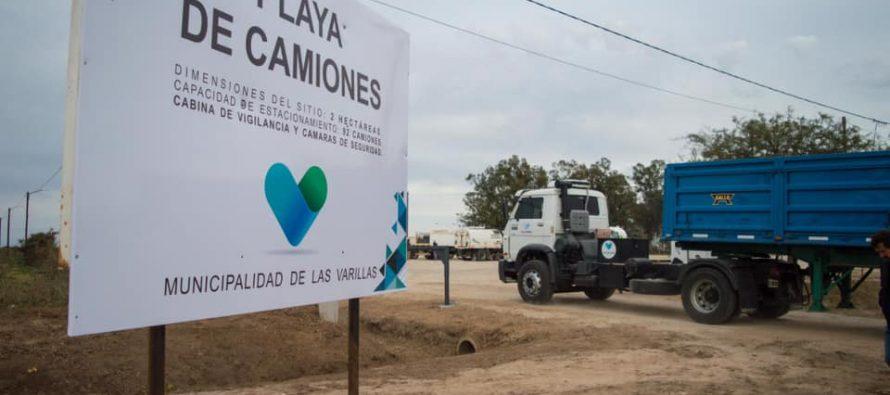 A partir del primer día de octubre comenzará a funcionar la Playa de Camiones