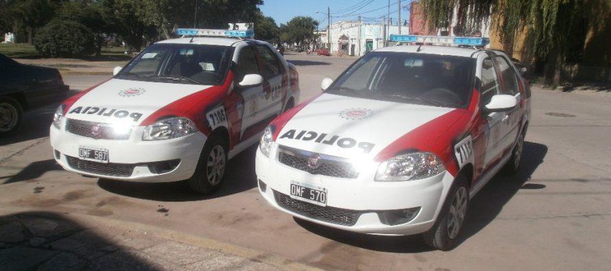 Robo de moto, detenido por disturbios y un accidente en Sacanta