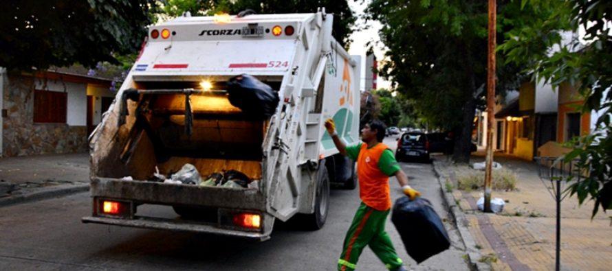 Nuevo horario para la recolección de residuos