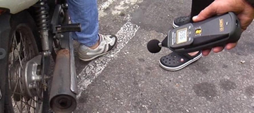 El no uso del casco y escapes libres, los flagelos sin solución en el tránsito de la ciudad