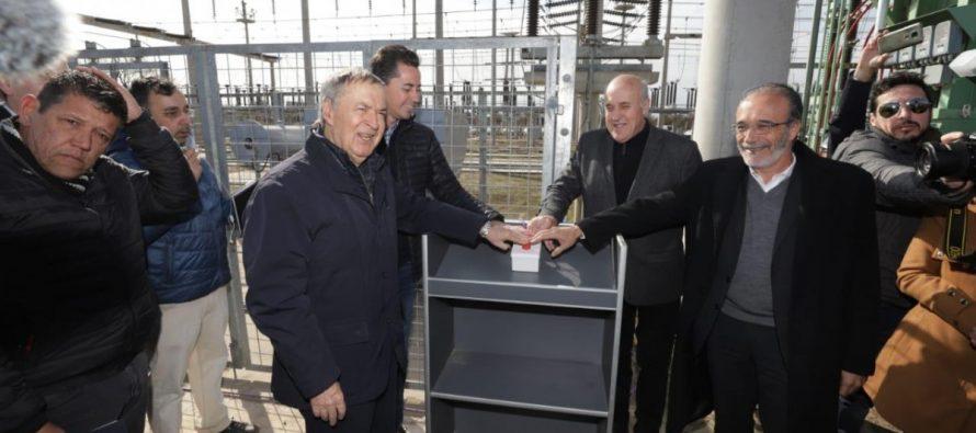Schiaretti dejó habilitada la Central Transformadora de EPEC en Las Varillas