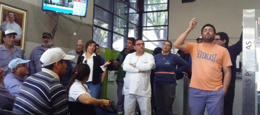 ANTICIPO: Los empleados municipales de paro por tiempo indeterminado