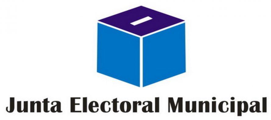 El 22 de octubre se realizará el acto de proclamación de las autoridades municipales electas el 15 de septiembre