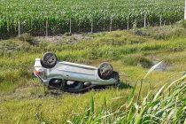 Cuatro heridos por un accidente  en Ruta 158