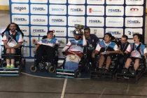 El varillense Mateo Gianessini, destacado protagonista de la selección campeona argentina de Power Chair