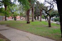 Hasta que se rediseñe, abrieron al público lo que queda de la Plaza San Martín