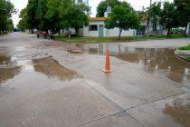 La rotura de una cañería dejó sin agua a un sector de la ciudad