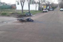 Choque de motos en El Arañado