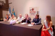 Presentaron en Las Varillas el Festival de Peñas de Villa María