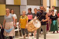 Con gran éxito se realizó el taller de Folclore