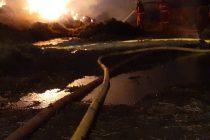 Bomberos fueron convocados por un incendio en el Basural Sur