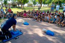 Instrucciones sobre RCP en la Escuela Municipal de Verano
