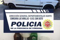 Detenidos por desobedecer el decreto de Cuarentena. LLevaban bebidas alcohólicas en el auto