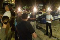 Gendarmería, Policía Federal y autoridades locales, patrullan las calles de Las Varillas
