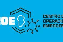 Reunión del Centro de Operaciones de Emergencia  en Las Varillas