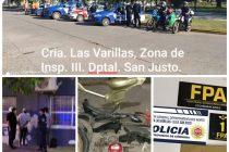 Numerosas detenciones por violar la norma de aislamiento y otros delitos
