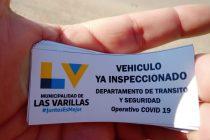 Solución para el tránsito de vecinos varillenses que viven más allá de los puestos de control virológico