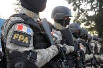 Procedimiento de la Fuerza Antinarcotráfico en Las Varillas. Un detenido