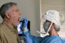 Covid: importante afluencia de gente para realizarse hisopados