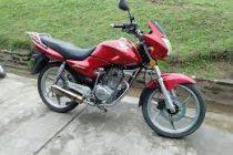 Recuperaron una moto robada en Laspiur