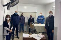 El Rotary Club entregó termómetros y productos sanitizantes a la Municipalidad