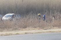 Accidente en Ruta 158 con tres personas damnificadas