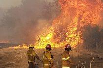 Incendios en las Sierras:regresó la tercera dotación de  bomberos  que participaron en el operativo de combate al fuego