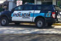 Procedimiento de la Policía Federal en el centro de la ciudad