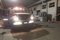 Sofocaron incendio en Valbo. Un herido leve