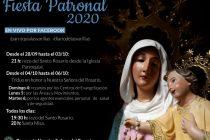 Celebración virtual de la Novena y Fiesta Patronal