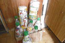 Campaña de recolección de ecobotellas del Club de Leones