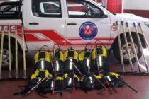 Nuevo equipamiento para el cuerpo de bomberos voluntarios de Las Varillas