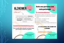 El municipio realiza una campaña de concientización del Alzhéimer