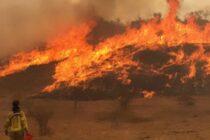Incendios en las Sierras: otra dotación de Bomberos de Las Varillas se sumó a los más de 400 que combaten las llamas