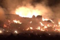 Una quinta dotación local de bomberos viajó a los incendios en Achiras