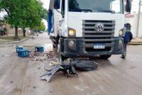 Adelanto: fuerte colisión en Avellaneda y Luis Morelli