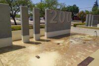 La policía recuperó los caños robados en la Plazoleta del Bicentenario