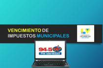 La municipalidad difundió el cronograma de vencimientos de impuestos municipales