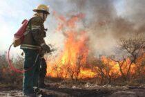 Regresaron los bomberos varillenses que combatieron incendios en las Sierras