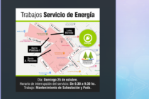 Corte de Energía de 3 horas este domingo en distintos sectores de la ciudad
