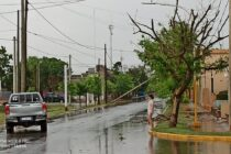 Fuerte temporal azotó Colonia San Bartolomé