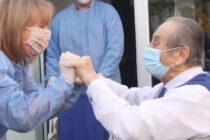 Emotivo video de los abuelos del Anexo del Sanatorio Policlínico